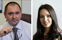 Андрей Стульнев, генеральный директор ООО «Конвейерные технологии», и Анастасия Ждакаева, заместитель генерального директора по коммерческим вопросам Е