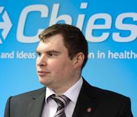 Павел Карасев, руководитель отдела информационных технологий «Chiesi Pharmaceuticals»